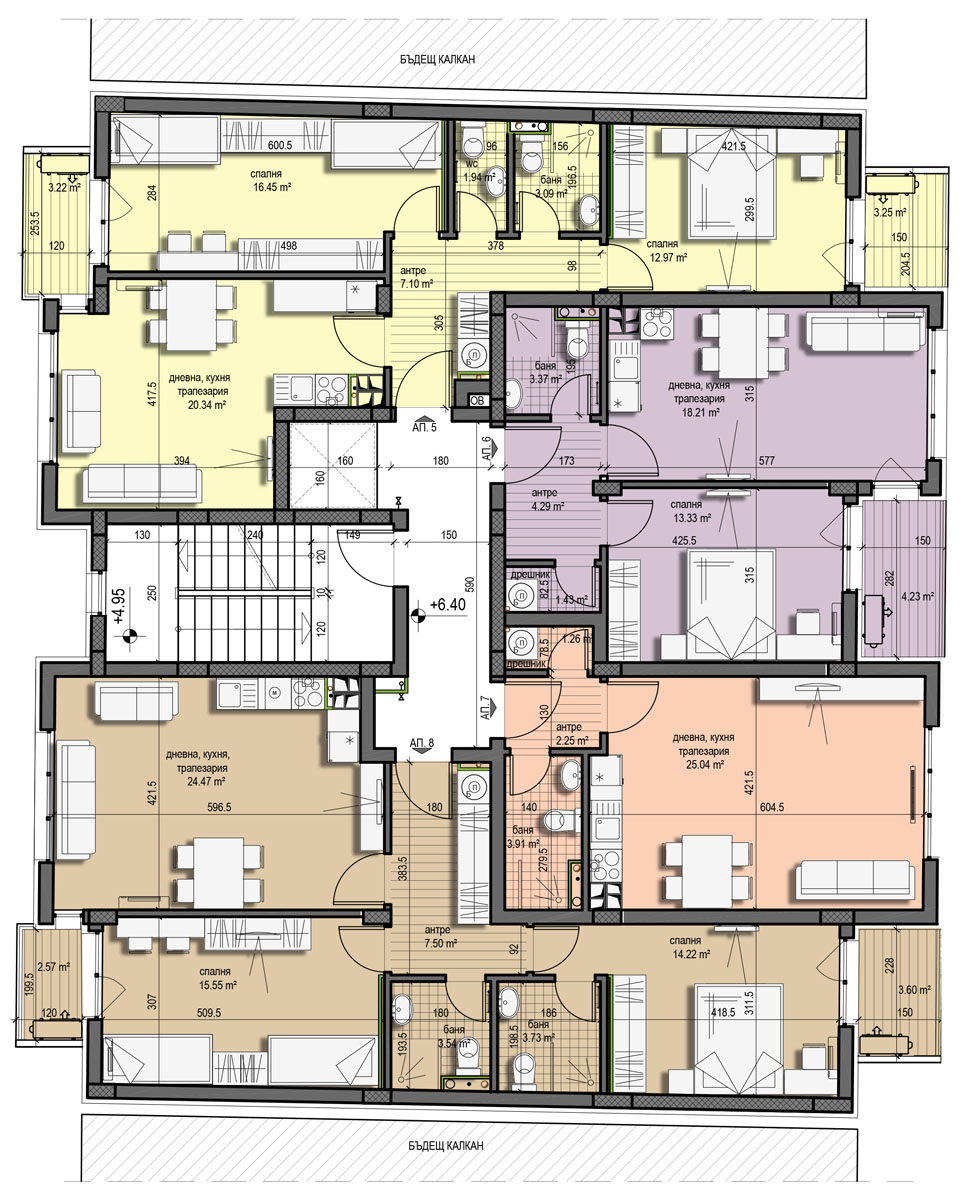 Проект Константин Величков 179 – Етаж 2